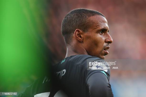 Joel Matip of Liverpool during the Premier League match between Burnley FC and Liverpool FC at Turf Moor on August 31 2019 in Burnley United Kingdom