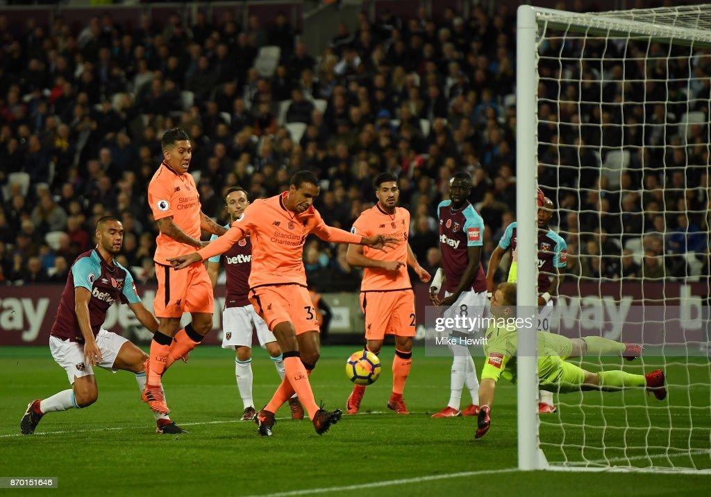 West Ham United v Liverpool - Premier League