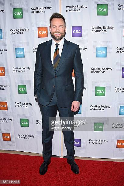 Joel McHale arrives at the 2017 Annual Artios Awards at The Beverly Hilton Hotel on January 19 2017 in Beverly Hills California