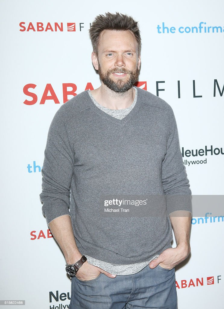 Joel McHale arrives at the Los Angeles premiere of 'The Confirmation' held at NeueHouse Hollywood on March 15, 2016 in Los Angeles, California.
