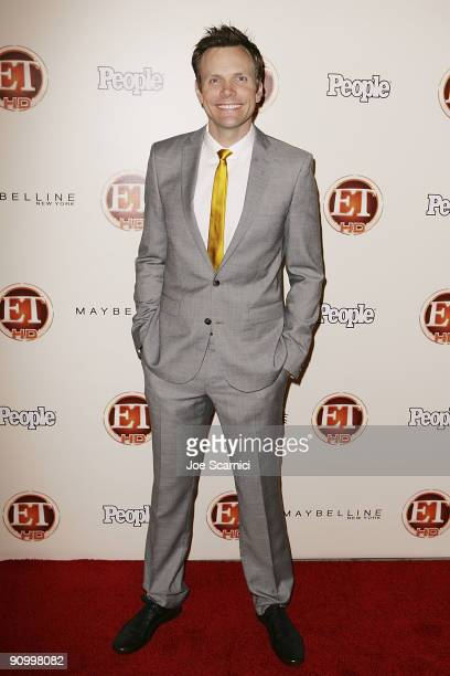 Joel Mchale arrives at Vibiana for the 13th Annual Entertainment Tonight and People magazine Emmys After Party on September 20, 2009 in Los Angeles,...