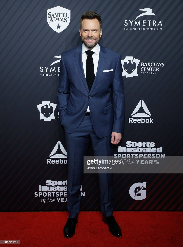 Joel McHale attends 2017 Sports Illustrated Sportsperson of the Year Awards at Barclays Center on December 5, 2017 in New York City.
