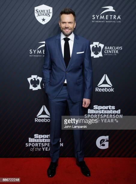 Joel McHale attends 2017 Sports Illustrated Sportsperson of the Year Awards at Barclays Center on December 5 2017 in New York City