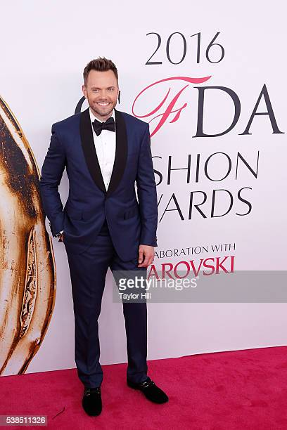 Joel McHale attends the 2016 CFDA Fashion Awards at the Hammerstein Ballroom on June 6 2016 in New York City