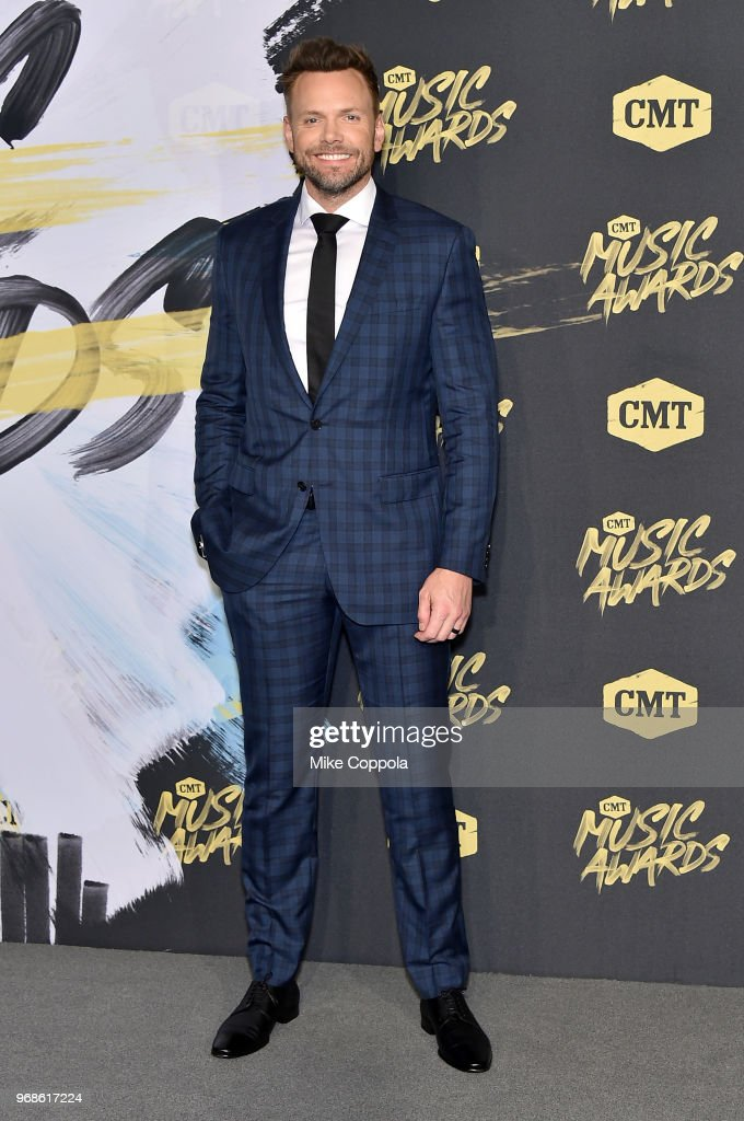Joel McHale attends the 2018 CMT Music Awards at Bridgestone Arena on June 6, 2018 in Nashville, Tennessee.