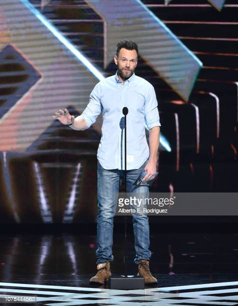 Joel McHale attends The 2018 Game Awards at Microsoft Theater on December 06, 2018 in Los Angeles, California.