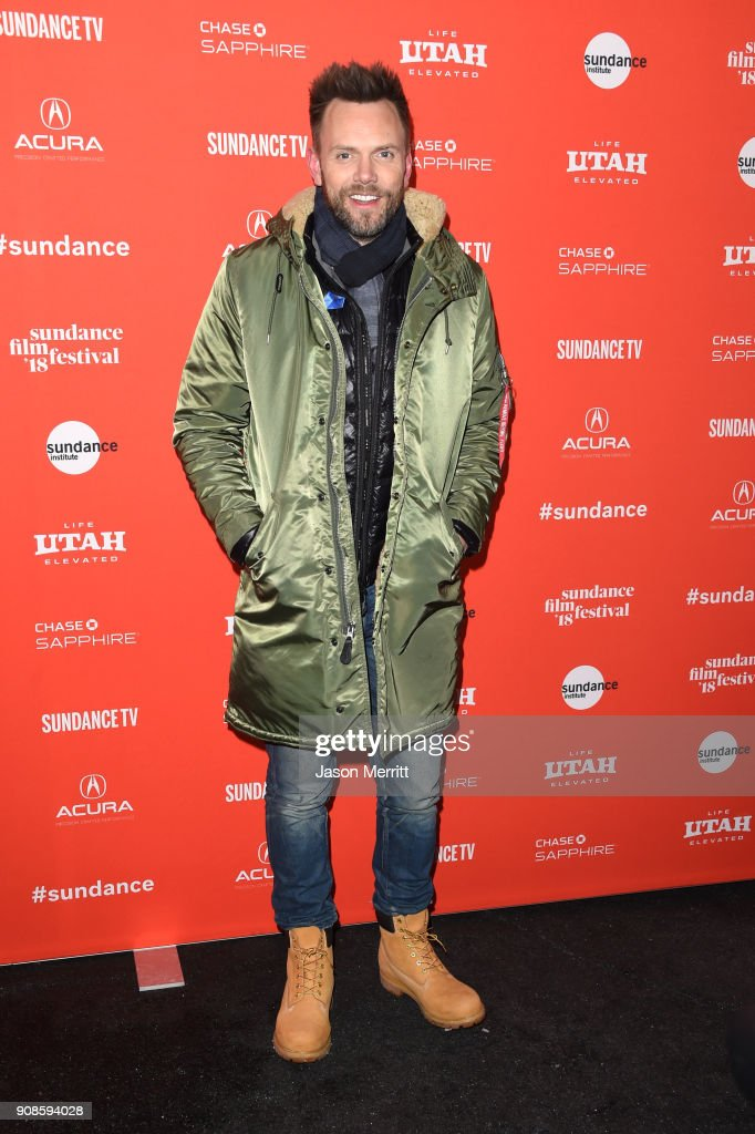 Joel McHale attends the 'Assassination Nation' Premiere during the 2018 Sundance Film Festival at Park City Library on January 21, 2018 in Park City, Utah.