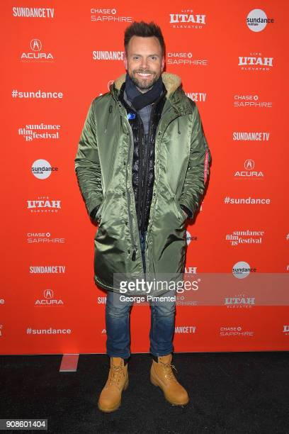 Joel McHale attends the 'Assassination Nation' Premiere during the 2018 Sundance Film Festival at Park City Library on January 21 2018 in Park City...