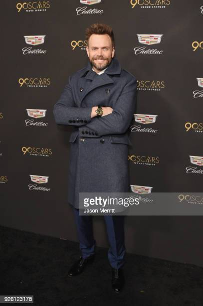 Joel McHale attends the Cadillac Oscar Week Celebration at Chateau Marmont on March 1 2018 in Los Angeles California