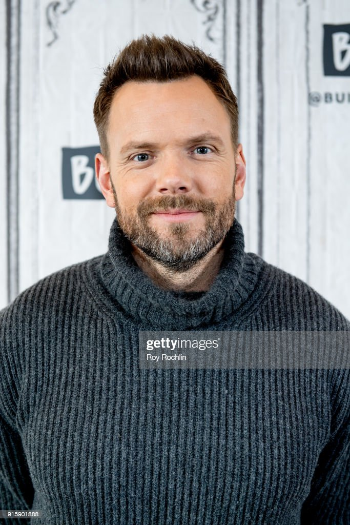 Joel McHale discusses 'The Joel McHale Show' with the Build Series at Build Studio on February 8, 2018 in New York City.