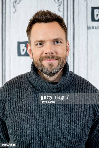 Joel McHale discusses 'The Joel McHale Show' with the Build Series at Build Studio on February 8 2018 in New York City