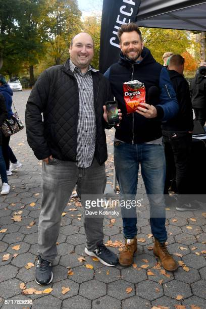 Joel McHale gifts new Xbox One X consoles in New York City to winning player Adam Cohen in Mtn Dew Doritos and Xbox Drop Zone the first of this...