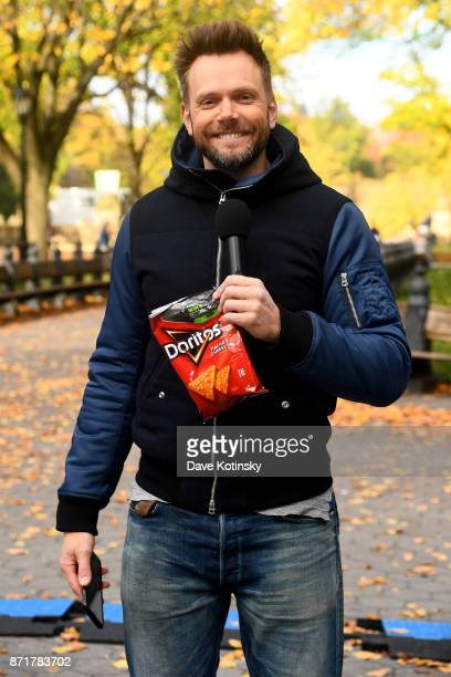 Joel McHale hosts Mtn Dew Doritos and Xbox Drop Zone the first of this weekend's nationwide augmented reality capturetheflag contests awarding...