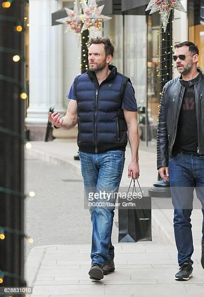 Joel McHale is seen on December 09 2016 in Los Angeles California