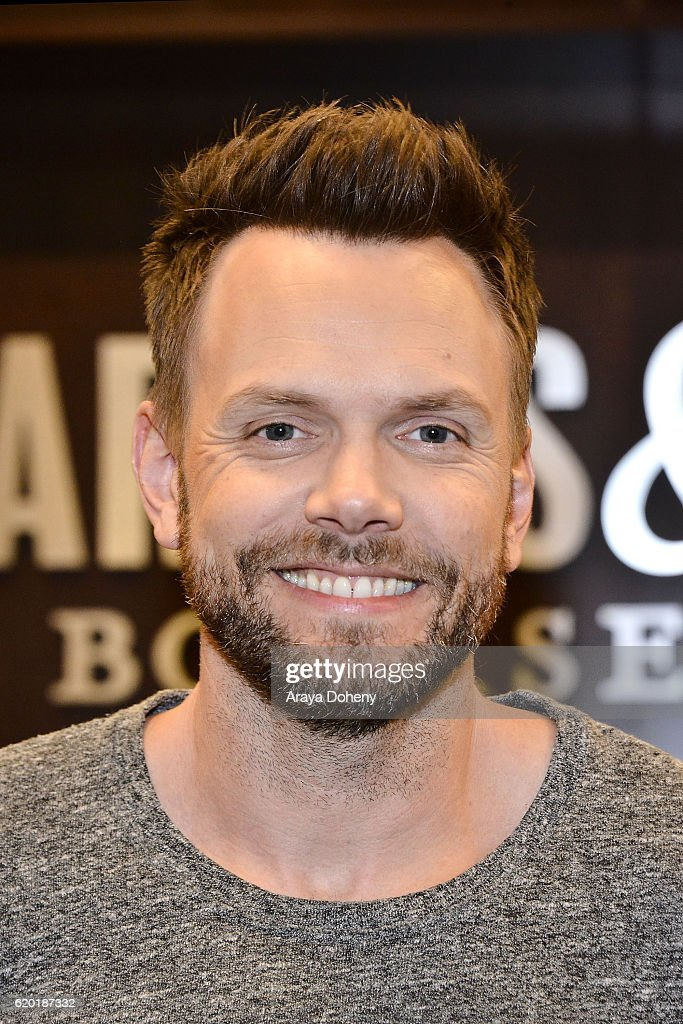 "Joel McHale Book Signing For ""Thanks For The Money"""