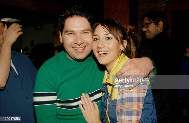 Joel Michaely and Bree Turner during 2004 Park City UTA/Amazoncom Party at The Palms Lounge and Casino at Buena Vista in Park City Utah United States