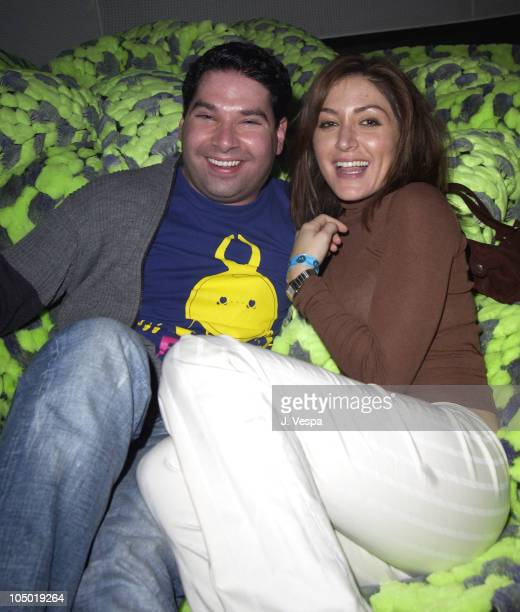 Joel Michaely and Sasha Alexander during Motorola 4th Annual Holiday Party Inside at The Lot in Los Angeles California United States