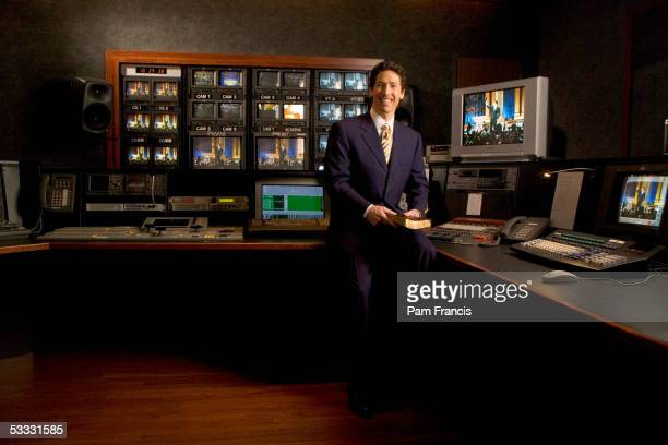 Joel Osteen Minister at Lakewood Church photographed March 6 2005 in Houston Texas