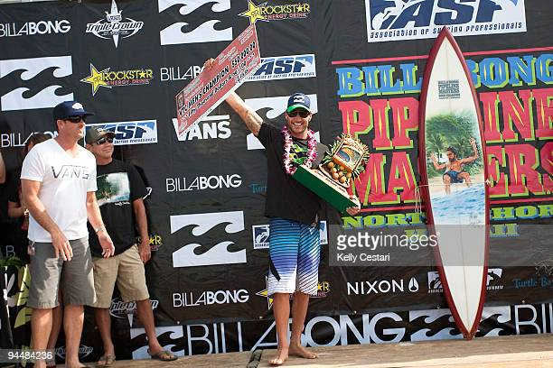 Joel Parkinson of Australia was crowned the VANS Triple Crown of Surfing Champion for the second consecutive year at the Billabong Pipeline Masters...