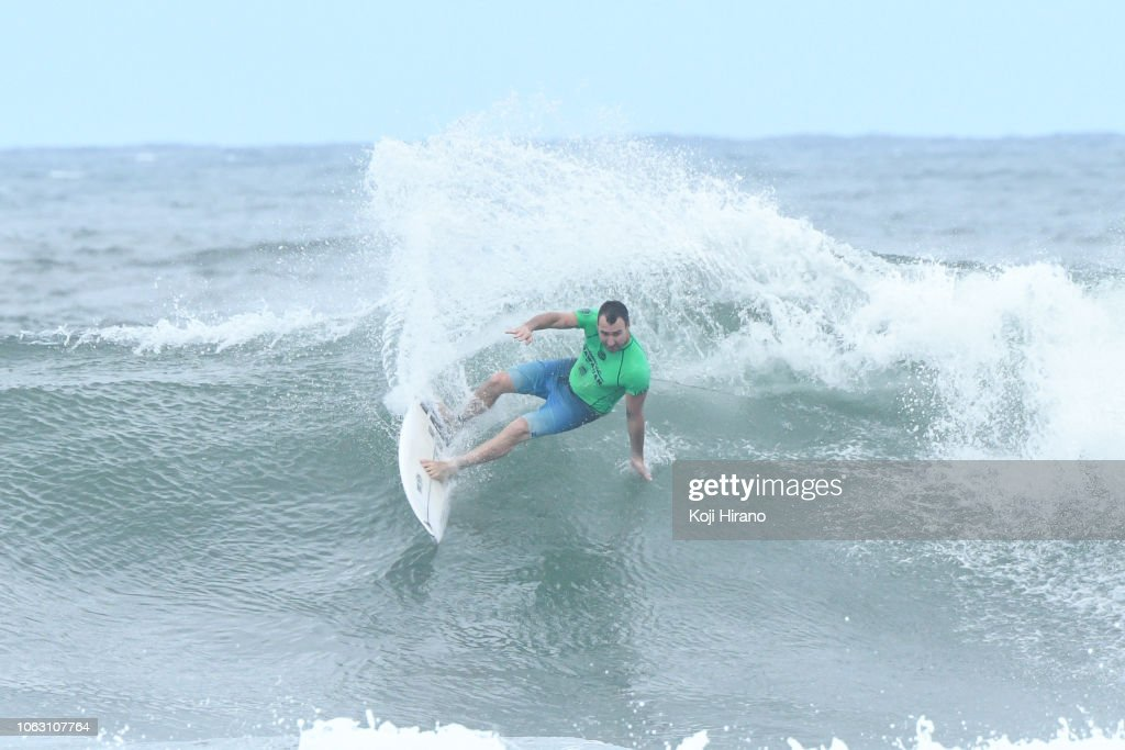 2bf21d6a48 Joel Parkinson surfs during the final of the winner of 2018 Vans ...