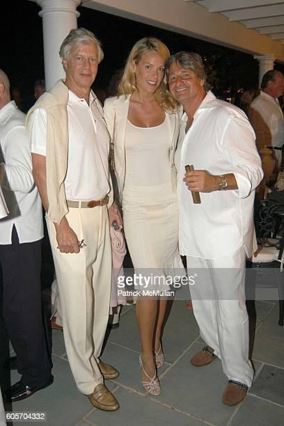 Joel Pasco Heidi Albertsen and Larry Rosenthal attend Dr Mrs Larry Rosenthal's 25th Wedding Anniversary Celebration at Southampton on July 1 2006