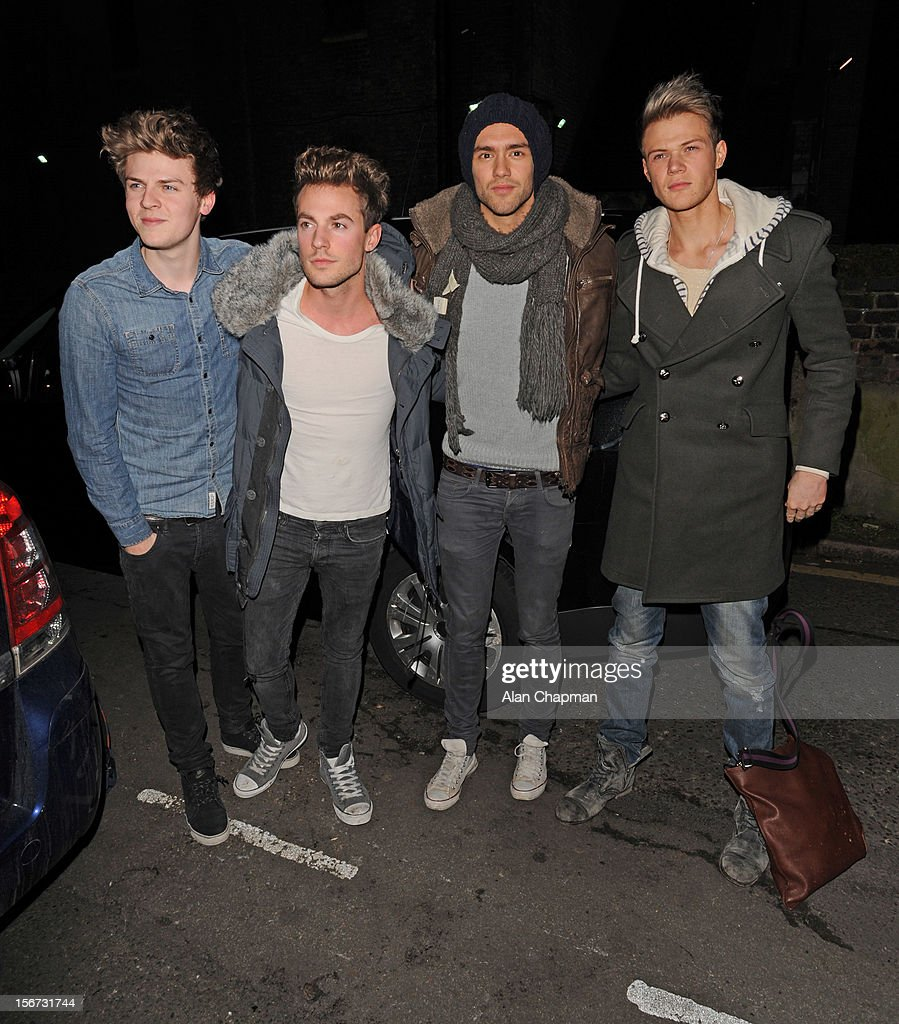 Celebrity Sightings At The Forum In London - November 19, 2012