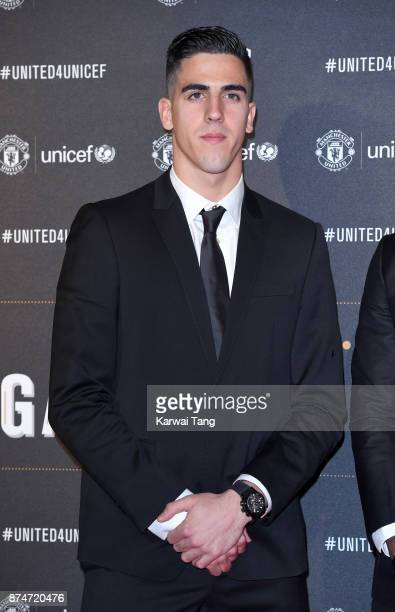 Joel Pereira attends the United for Unicef Gala Dinner at Old Trafford on November 15 2017 in Manchester England