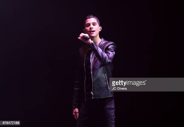 Joel Pimentel of CNCO performs onstage during Uforia's 'KLove Live' at The Forum on November 19 2017 in Inglewood California