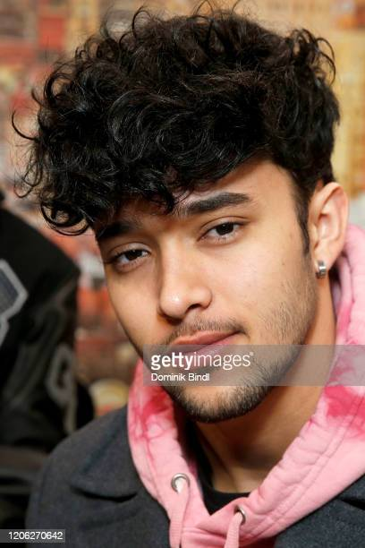 COVERAGE Joel Pimentel of CNCO visits People Now on February 14 2020 in New York United States
