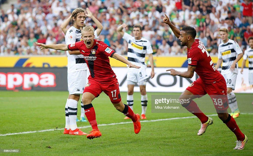 Borussia Moenchengladbach v Bayer 04 Leverkusen - Bundesliga : News Photo
