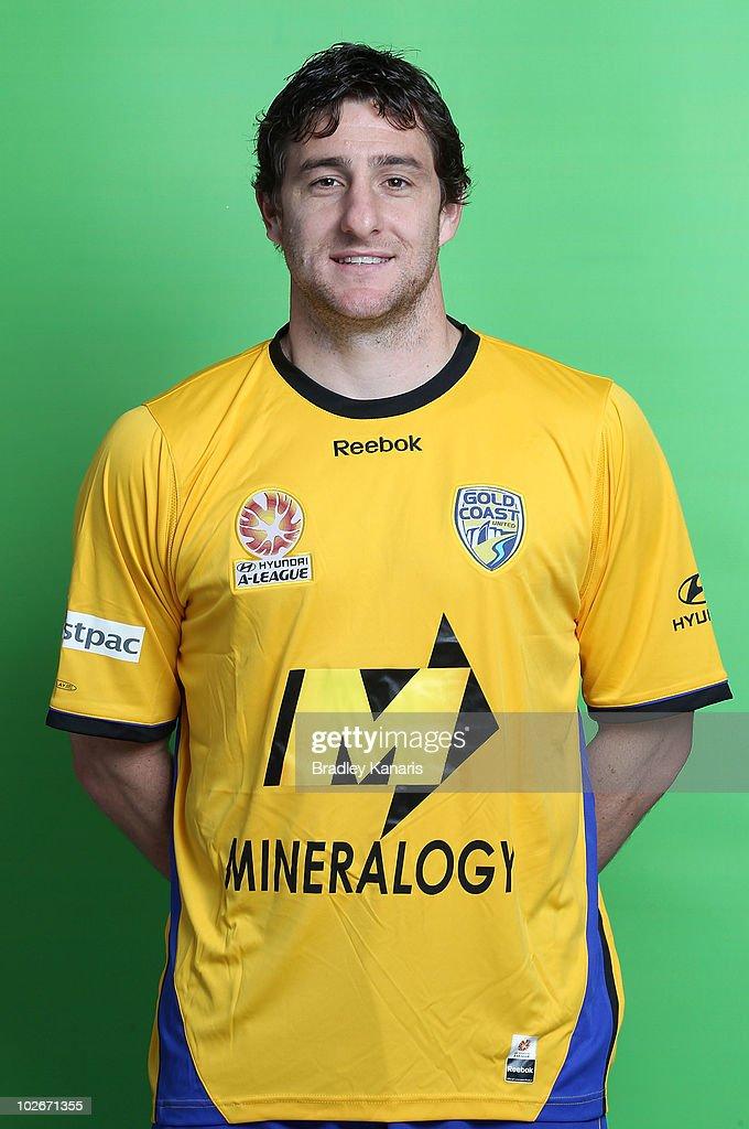 2010/11 A-League Headshots - Gold Coast United