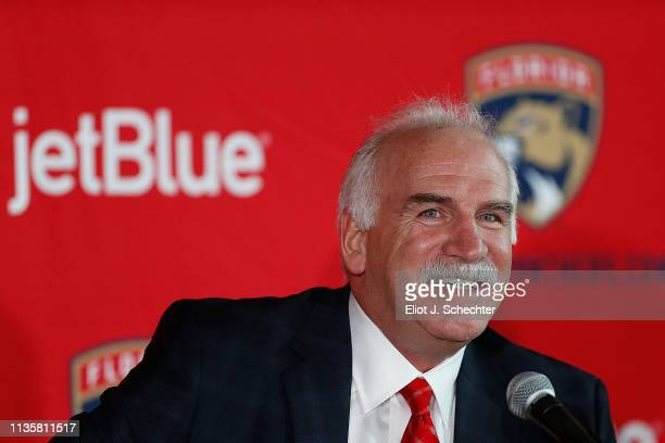 Joel Quenneville is named Florida Panthers Head Coach Florida Panthers President of Hockey Operations General Manager Dale Tallon announced today...
