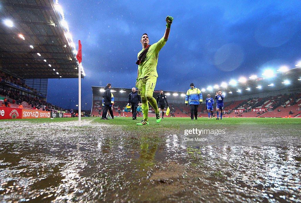 Stoke City v Everton - Premier League : Foto jornalística