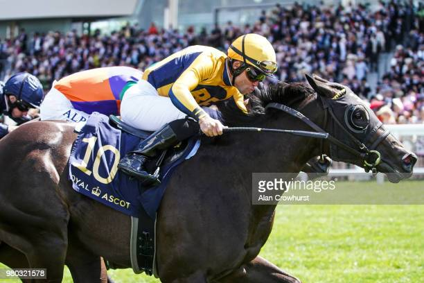 Joel Rossario riding Shang Shang Shang win The Norfolk Stakes on day 3 of Royal Ascot at Ascot Racecourse on June 21 2018 in Ascot England