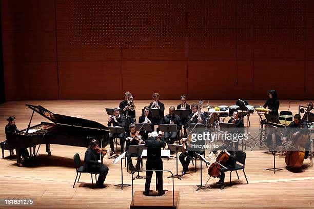 Joel Sachs leading the New Juilliard Ensemble in Focus 2013 Festival at Alice Tully Hall on Friday night January 25 2013