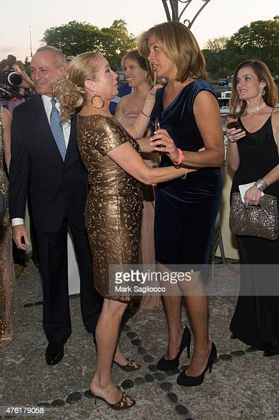 Joel Schiffman TV Personalities Kathie Lee Griffith and Hoda Kotb attend the Greenwich International Film Festival's Changemaker Gala at L'Escale...