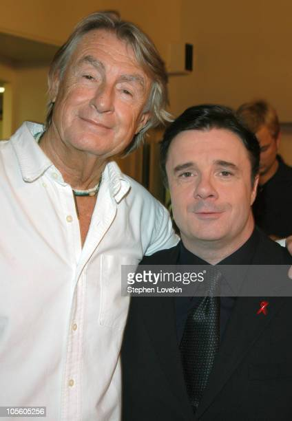 Joel Schumacher and Nathan Lane *Exclusive Coverage*