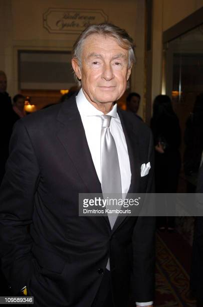 Joel Schumacher director during The Phantom of the Opera New York City Premiere After Party at The Plaza Hotel in New York City New York United States