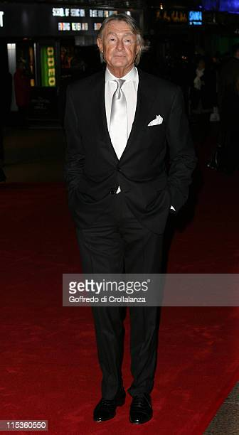 Joel Schumacher during The Phantom of the Opera London Premiere Arrivals at Leicester Square in London England Great Britain