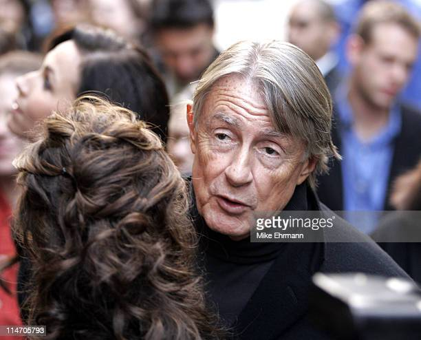 Joel Schumacher during Unveiling of The Phantom of the Opera Themed Holiday Windows at Bloomingdales at Bloomingdales in New York New York United...