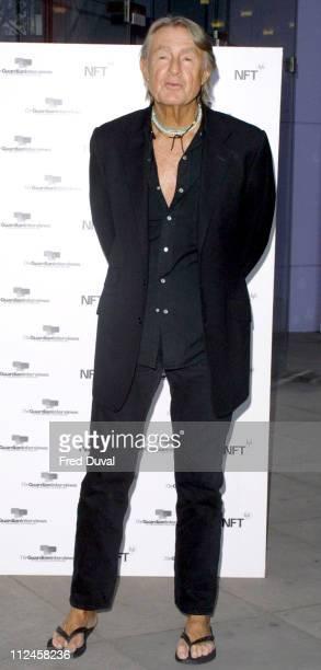 Joel Schumacher during Veronica Guerin London Premiere Arrivals at National Film Theatre in London Great Britain