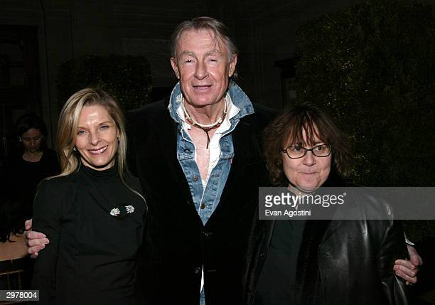 Joel Schumacher Sandy Brandt and Ingrid Sischy attend the 'Mens Club' gala presented by The Young Fellows of The Frick Collection and Carolina...