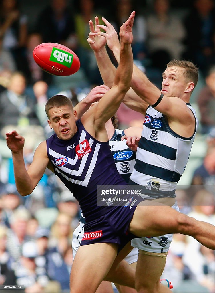 AFL Rd 2 - Geelong v Fremantle
