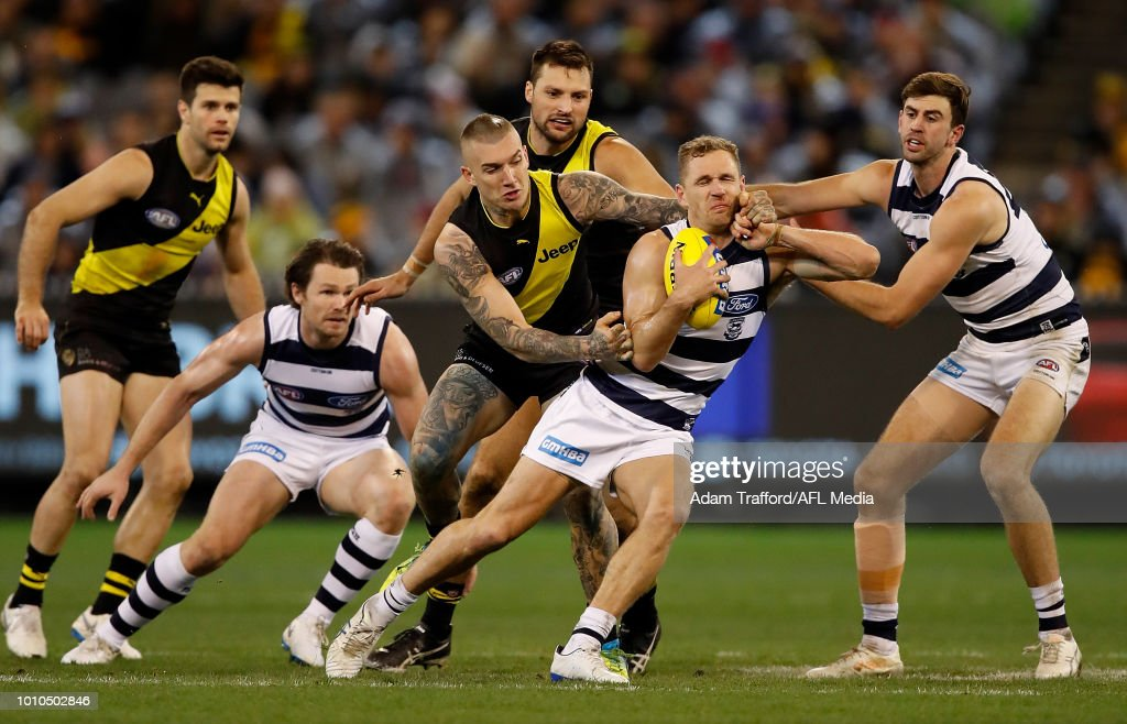 AFL Rd 20 - Richmond v Geelong : Nachrichtenfoto