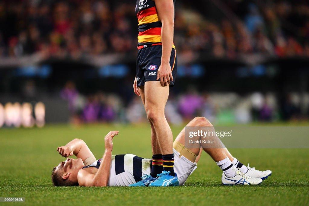AFL Rd 17 - Adelaide v Geelong : News Photo