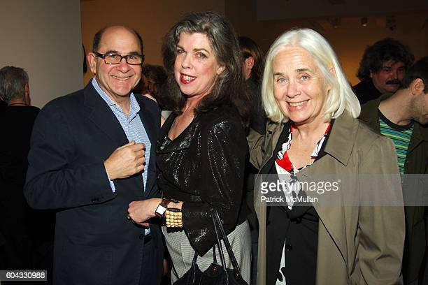Joel Shapiro Helen Phelan and Fredricka Hunter attend Opening of FRED WILSON My Echo My Shadow and Me at PaceWildenstein on March 10 2006 in New York...