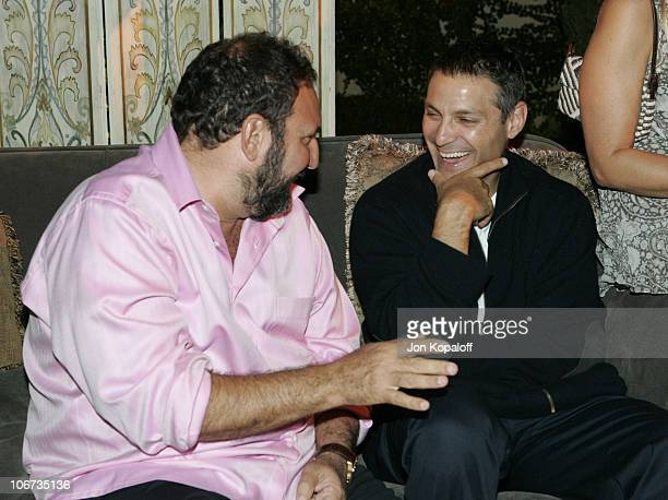 Joel Silver and Ari Emanuel during 2004 Pre-Emmy Party Hosted By Endeavor Agency at Private Residence in Beverly Hills, California, United States.