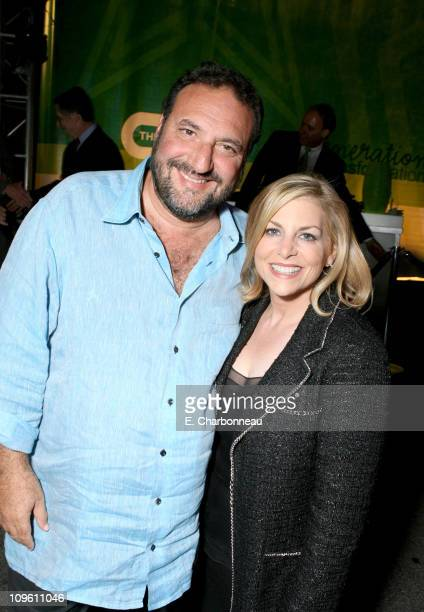 Joel Silver and Dawn Ostroff CW President of Entertainment