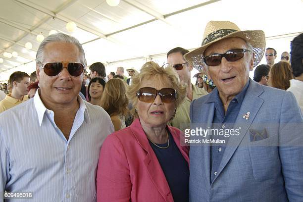 Joel Silverman Irene Schwartz and Bernard Schwartz attend SYBIL And DAVID YURMAN Host A Luncheon For GRAND PRIX SUNDAY At THE HAMPTONS CLASSIC at...