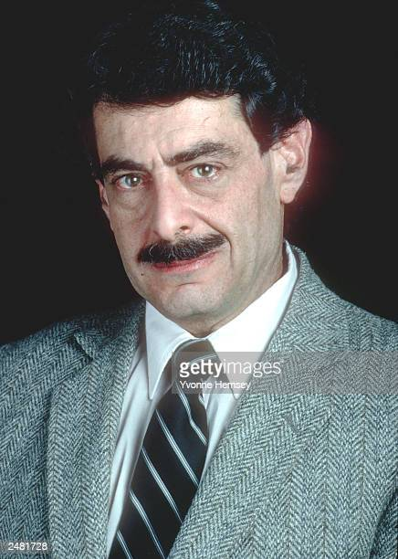 Joel Steinberg poses for a portrait December 9 1988 while incarcerated at Rikers Island in New York City